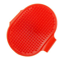 Rubber Material Pet Dog Grooming Brush For Dog Shower Washing Drop Shipping
