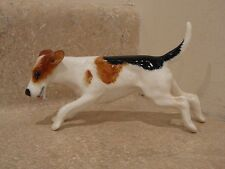 VINTAGE ROYAL DOULTON DOG FIGURINE CHARACTER SERIES FOX TERRIER RUNNING HN2510