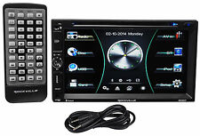 "Rockville RDD7 7"" Car DVD/iPhone/Pandora/USB Bluetooth Player Receiver+Cable"