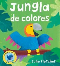 Jungla de colores (El nido de pio, pio) (Spanish Edition), Fletcher, Julie, New
