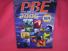 USED NAPA PAINT BODY EQUIPMENT ACCESSORIES PRODUCTS CATALOG 2005  (N-333)