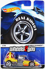 BUBBLE GUNNER - 2015 Hot Wheels Heritage w/ Real Riders - A Case -