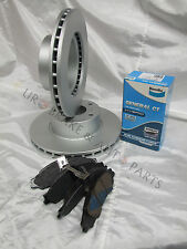 BENDIX GCT FRONT BRAKE PADS & DISC BRAKE ROTORS COMMODORE VT VU VX VY VZ