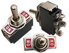 Kippschalter EIN-AUS-EIN Schalter Metall +Kunststoff ON-OFF-ON Einschalter #4902