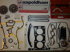 VAUXHALL CORSA C 1.0 Z10XE HEAD GASKET SET TIMING CHAIN KIT + LOCKING TOOLS