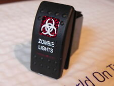MARINE / AUTO CONTURA Switch SPDT SPECIALTY ZOMBIE LIGHTS LIGHTED RED LENS 12V