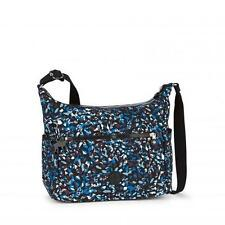 Genuine Kipling ALENYA shoulder handbag in BLUE MINERAL PRINT (BNWT) rrp£79
