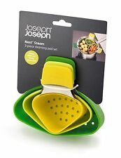 Jospeh Joseph Nest™ Steam, 3-Piece Steaming Pod Set