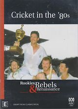 CRICKET IN THE '80s - Rookies, Rebels & Renaissance. ABC Documentary (DVD 2004)