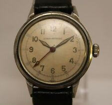 Vintage Girard Perregaux Military Type 31.75mm Case Men's Watch LOT#909 BUYNOW