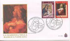 ENVELOPPE VISITE DU PAPE GIOVANNI PAOLO II / POSTE VATICANE / 2002