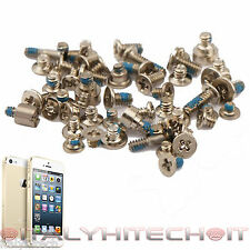 SET COMPLETO 52 VITI PER APPLE IPHONE 5S GOLD KIT RICAMBIO RIPARAZIONE