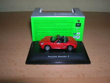 Welly Porsche Boxter S Cabrio rot red Metall, 1:87 H0