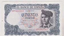ESPAGNE ESPANA 500 PESETAS 1971 SUP