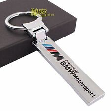 MOTOR SPORT Key Chain Fob Ring Stainless Steel Keychain for BMW ///M M3 M5 #B007
