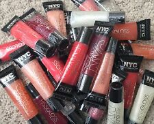 Lot of 25 NYC New York Color Lip Kiss Gloss Set - Asst Colors Wholesale (Sealed)