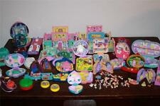 HUGE lot vtg POLLY POCKET Bluebird DISNEY 1990's Beauty Beast Minnie Mouse