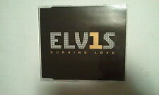 MAXI CD--ELVIS PRESLEY--ELV1S --BURNING LOVE--3 TRACKS