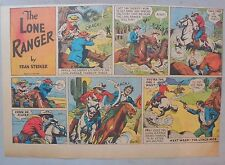 Lone Ranger Sunday Page by Fran Striker and Charles Flanders from 5/19/1940