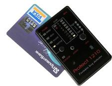 CREDIT CARD SIZED MINI BUG SPY CAMERA RF GSM DETECTOR