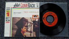 Ted Herold - Moonlight 7'' Single HIT COMEBACK