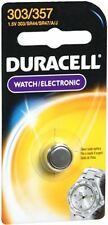 Duracell Silver Oxide Battery Watch/Electronic 1.5 Volt 303/357 1 Each