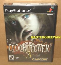 PS2 Clock Tower 3 New Sealed (Sony PlayStation 2, 2003)
