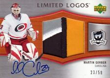 05-06 The Cup LIMITED LOGOS xx/50 Made! Martin GERBER - Hurricanes