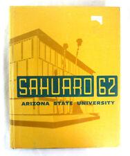 1962 Yearbook Arizona State University ASU Phoenix Arizona Sahuaro