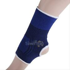 2xElastic Ankle Brace Support Pad Guard Achilles Tendon Sports Strap Foot