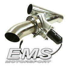 EMS acero inoxidable válvulas de escape System 57mm/exhaust cut out Valve --- ak1