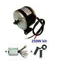 MY1016 250W + Motor Controller + Twist Throttle, DIY Electric Bicycle Kit