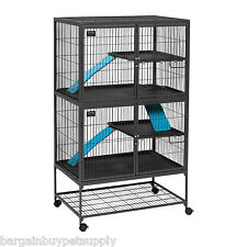 Midwest Ferret Nation Small Pet Double Unit Pen Cage with Stand