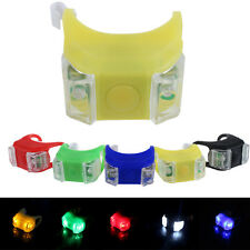 Silicone Bicycle Safety Lighting LED Tail Light Water Resistant Lamp Flashlight