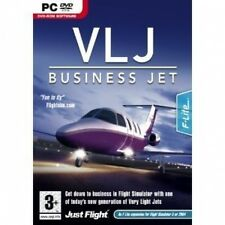 VLJ Business Jet Expansion Pack for FS 2004/FSX (PC DVD) NEW SEALED
