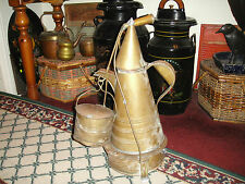 Antique Military Camp Coffee Pot-1800's-Primitive Americana-Large-Unusual