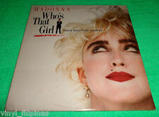 Made In U.S.A.:MADONNA - Who's That Girl Original Soundtrack LP,Rare!