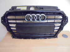 2013 8V On Audi A3 S LINE BLACK edition Front Grill Grille  genuine audi part