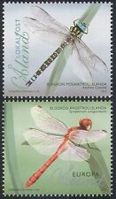 Aland 2012 Dragonflies/Insects/Nature/Conservation/Dragonfly 2v set (n41567)