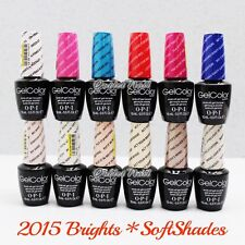 OPI GelColor SET OF 12 BRIGHTS & SOFTSHADES 2015 COLLECTION Soft Shades Summer