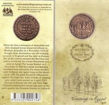 GREAT WAR CENTENARY PENNY COIN TRAINING IN EGYPT 1914 -  NEW