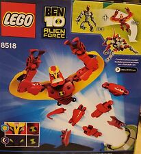 NEW LEGO 8518 BEN 10 ALIEN FORCE JET RAY CARTOON NETWORK HOLIDAY FREE GIFT WRAP
