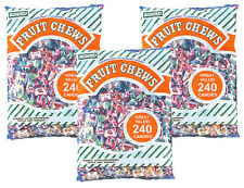 SweetGourmet Albert's Fruit Chews (Assorted , 720CT, Bulk)- 4.5Lb FREE SHIPPING!