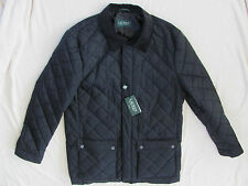 Ralph Lauren Quilted Raincoat-Water Repellent-Black- Size 2XL 50-52 Reg NWT $295