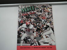 Michigan State SPARTANS vs Ohio State BUCKEYES 1980 PROGRAM MSU OSU+Go Cup XCond