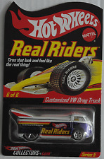 "HOT WHEELS – VW DRAG TRUCK ""Real Riders Series 5"" Nuovo/Scatola Originale"
