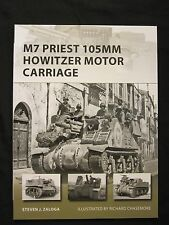 Osprey Book: M7 Priest 105mm Howitzer Motor Carriage - 48 pgs, color illus, bw p
