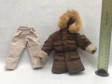 "Star Wars 12"" Hasbro Han Solo Captain Hoth 1/6 Clothing Set Jacket Pants"