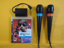 Ps3 Singstar Vol 1 + 2 Micrófonos Micrófonos Playstation PAL Oficial