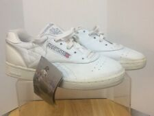 NWT Vintage Reebok Club Classic Women Tennis Shoes 1980's White Size 9 USA 7 UK